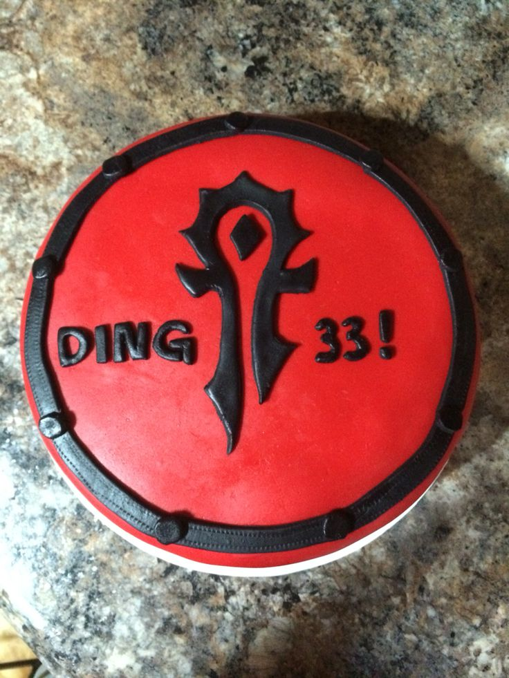 17 Best Images About World Of Warcraft Cake On Pinterest