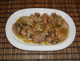 Al Rico Plato: Pollo al ajillo (Thermomix)