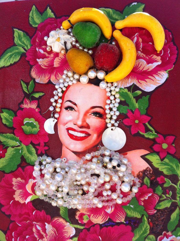 Carmen Miranda.  I love her!!