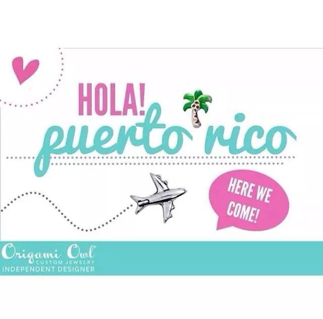 Hola Puerto Rico! Empezando el 5 de Mayo, Ud. puede ser parte de esta gran compañía que se llama Origami Owl. Quieres tener tu propio negocio y ser parte de mi equipo de diseñadoras, póngase un contacto conmigo al devinelockets@gmail.com. Mire mi página de negocio www.devinelockets.origamiowl.com. #oportunidad #joinmyteam #opportunity #puertorico