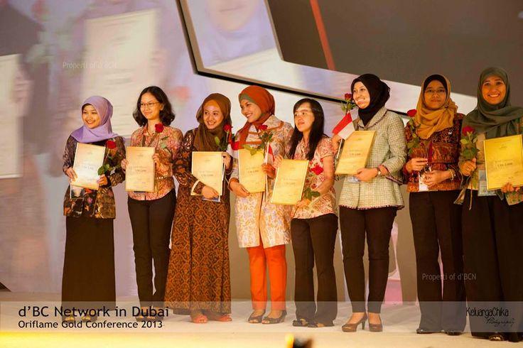 Recognisi Gold Director #OriflameGC2013