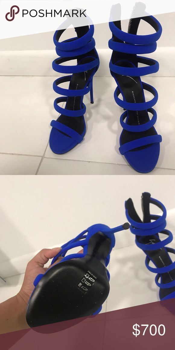 Brand new Giuseppe heels Never worn , it was a gift but they didn't fit . Giuseppe Zanotti Shoes Heels