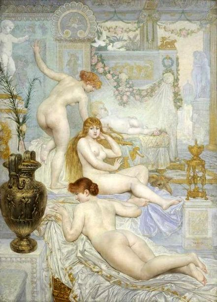 Eros by Adolphe La Lyre (1850-1935)