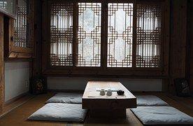 전통, 찻집, 한옥, 동양, 인테리어, 디자인