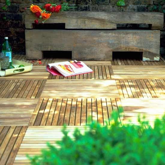 Give garden decking a decorative twist | 10 easy garden ideas |