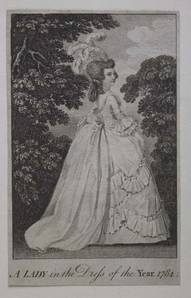 A Lady in the Dress of the Year 1784