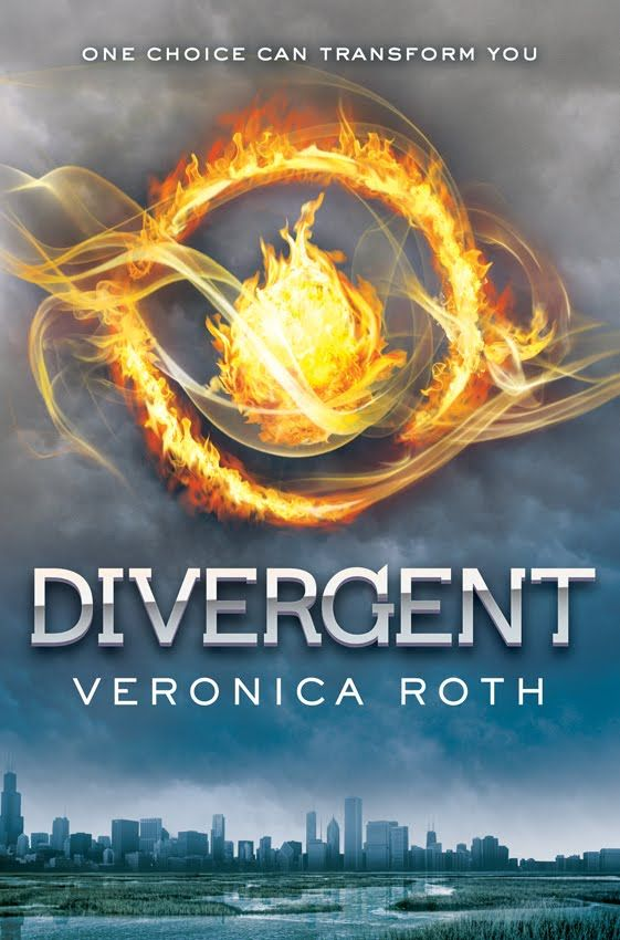 Divergent-This was such a good book to read I need to re-read it and also read Insurgent and Allegiant soon!