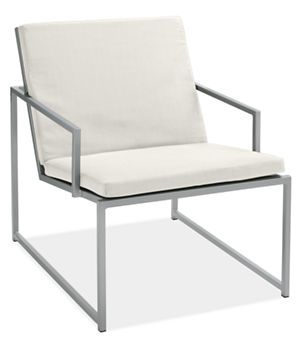 Cruz Lounge Chair With Cushions   Chairs U0026 Chaises   Outdoor   Room U0026 Board