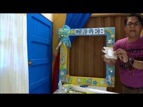 Como hacer un marco de carton. Reciclaje .How to make a cardboard frame. recycling - YouTube