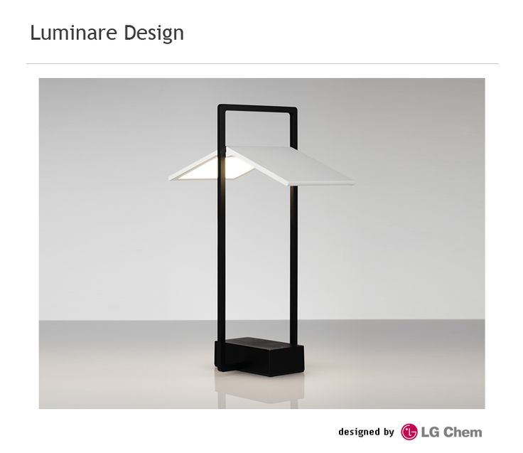 Oled mood lamp with square type panel design lighting for Mood light designs
