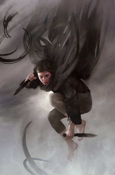 Vin from the Mistborn Trilogy. Favorite heroin ever!