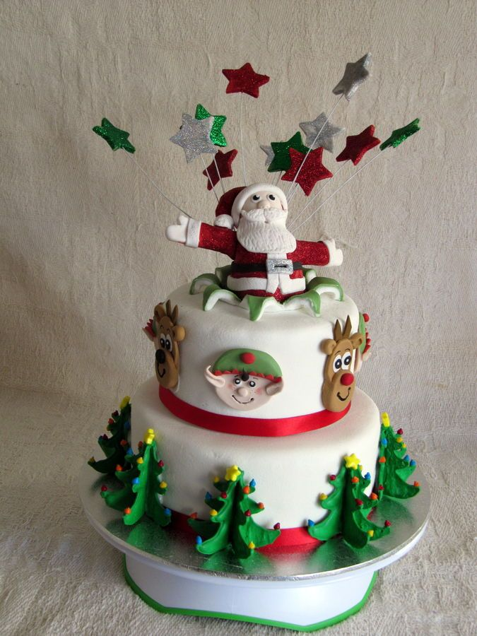 264 best CAKES FOR CHRISTMAS images on Pinterest ...