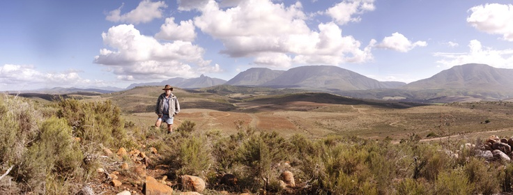 took this photo of my dad this weekend on our farm en Riversdale.     Photo by Mandi Scholtz