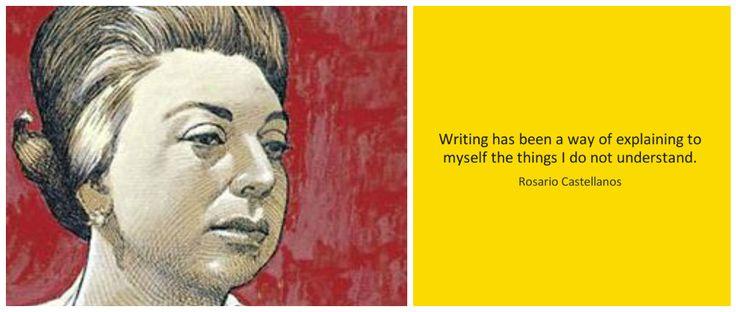 #UndiacomlHoy 25 de Mayo de 1925, Nació la poeta mexicana  Rosario Castellanos una de las más importantes escritoras del siglo XX #Culture #Books #poetry #Poems #Womens #poet #Writers #centuryXX #Escritoras #cultura #Poesia #poemas #Poetizas #Mexicanas #natalicio
