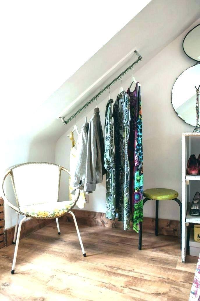Closet Ideas Attic Closet Loft Wardrobe .
