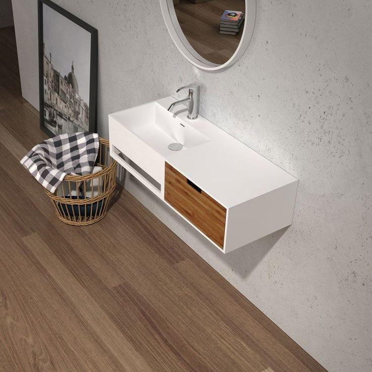 Unico 10 Vanity & Wash Basin by Parisi - Just Bathroomware
