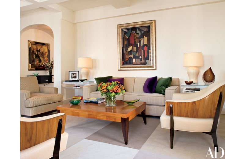 The author and his wife, Elaine Joyce Simon, called on interior designer John Barman to design a modern and comfortable interior for writing and entertaining
