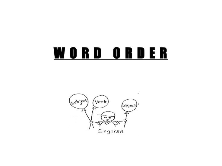 How to Teach Word Order  Help Them Remember the Patterns Summit Language Institute