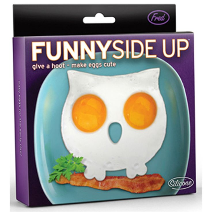 Fred & Friends Funny Side Up Skull Egg Shaper
