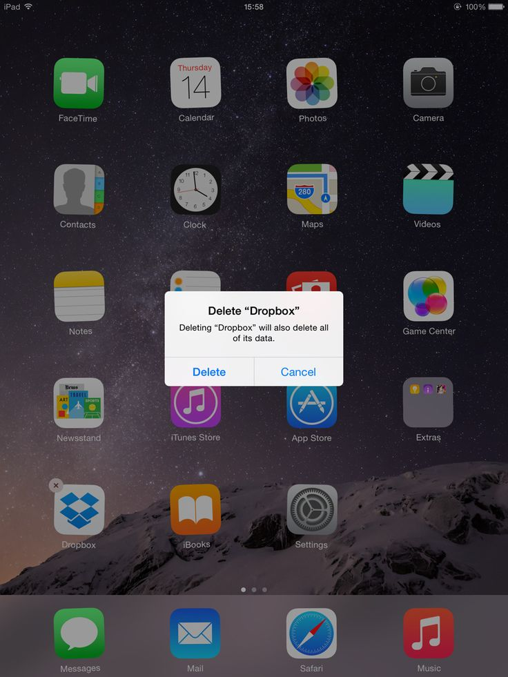 How to delete apps from ipad app ipad facetime
