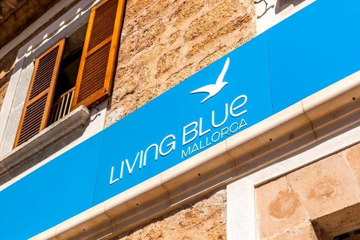 #fresado letras #corpóreas para #Living Blue - Solicita presupuesto sin compromiso en www.luminososmca.com