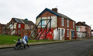 Housing in Gresham, Middlesbrough