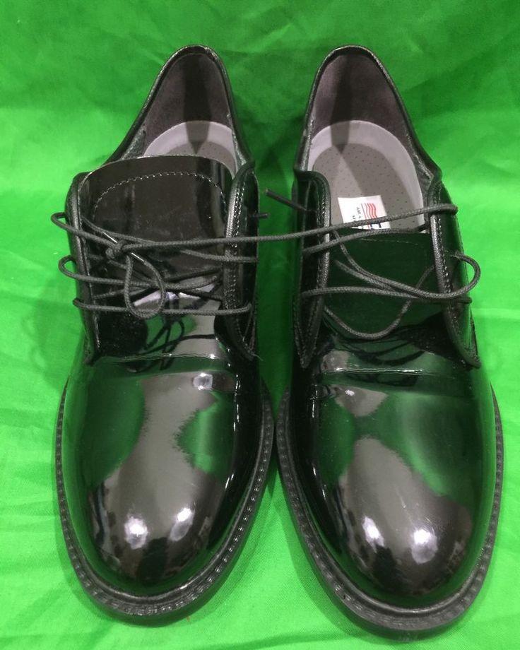Capps Military Low Quarters Dress Shoes Black Oxfords Size 7M | eBay