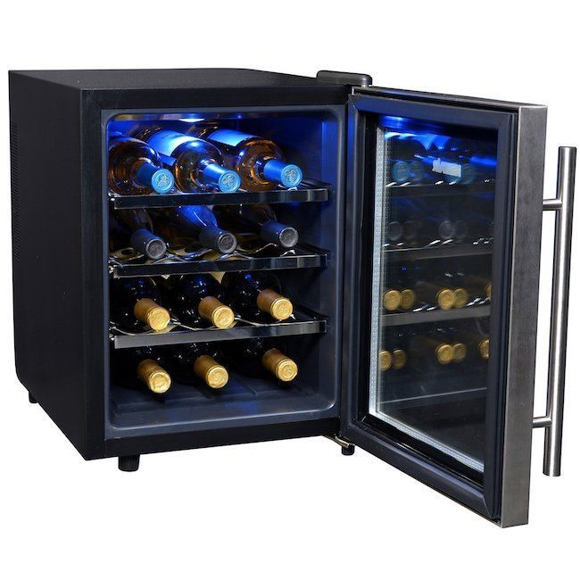 Wine Cooler Countertop Kitchen 12 Bottle Juice Beverage Complete With Shelves Newair Wine Cooler Thermoelectric Wine Cooler Italian Wine