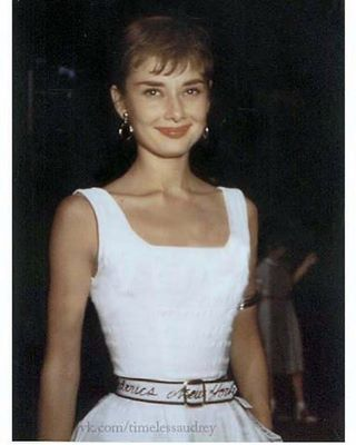 Rare picture of Audrey,c.1953 #AudreyHepburn