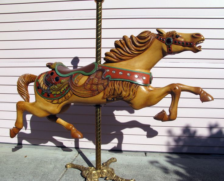 1000 Images About Carousel Horses C W Parker On