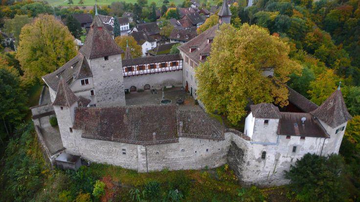 Switzerland. Kyburg Castle (1027). Zürcher oberland, near Winterthur.