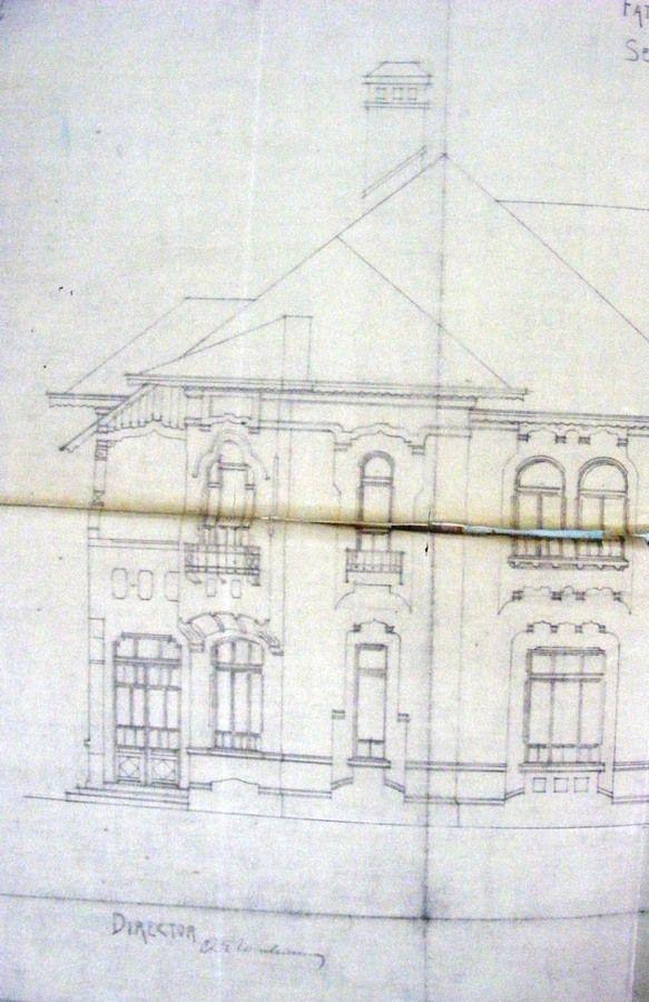 Tipul F, Pcl. Dorobanti, 1920 (secțiune)