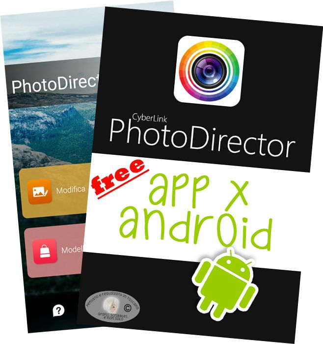 PHOTODIRECTOR FREE APP PER ANDROID http://graficscribbles.blogspot.it/2016/06/app-android-editor-fotografia-filtri-pennelli-.html #app #android