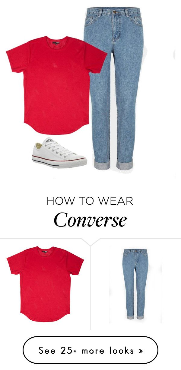 """""""Untitled #10"""" by music0blivion on Polyvore featuring Converse, women's clothing, women, female, woman, misses and juniors"""