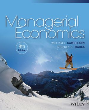 You Will download digital word/pdf files for Complete Solution Manual for Managerial Economics, 8th Edition by Stephen G. Marks, William F. Samuelson 9781119025924