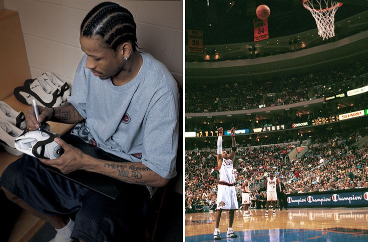 Iverson during 2001 NBA Finals