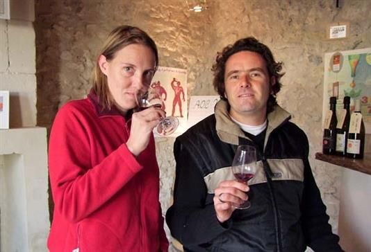 Lise and Bertrand Jousset (Photo: Wine Terroirs)
