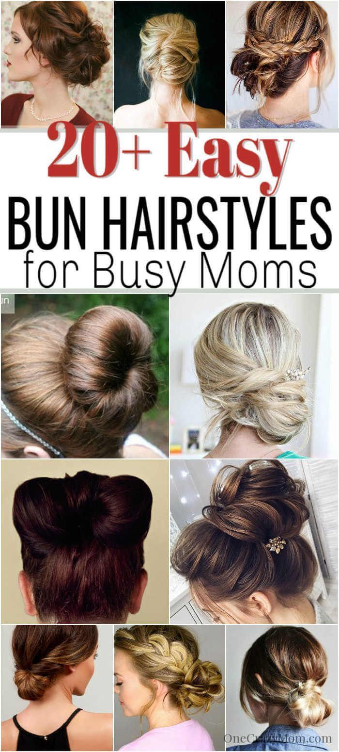 Onecrazymom Bunhairstyles Bunhairstyleseasy Bunhairstylesforlonghair New Site Cute Bun Hairstyles Easy Bun Hairstyles Messy Bun Hairstyles