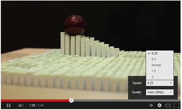 How to Watch YouTube Video in Slow Motion at http://sdbloggers.com/watch-youtube-videos-in-slow-motion/