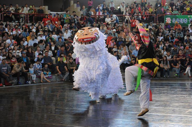 탈춤공연장_중요무형문화재 제6호 은율탈춤(2015. 9. 29.)