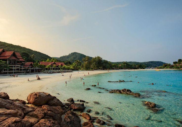 Redang Island i Malaysia er en sand tropeø med flotte strande, koralrev havskildpadder og masser af fisk.