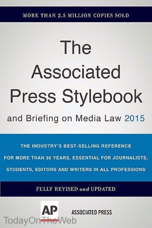 The Associated Press Stylebook 2015 (Paperback)  by Associated Press 465062946   eBay