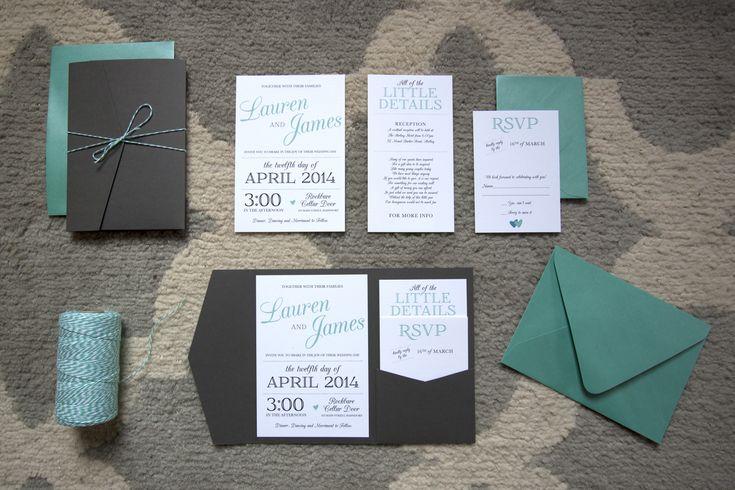 Tiffany Blue Wedding Invitations Kits: 25+ Best Ideas About Pocket Wedding Invitations On