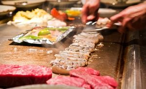 Groupon - Japanese Food for Lunch or Dinner at Sakura Japanese Steakhouse (Half Off) in Greenville. Groupon deal price: $7.00