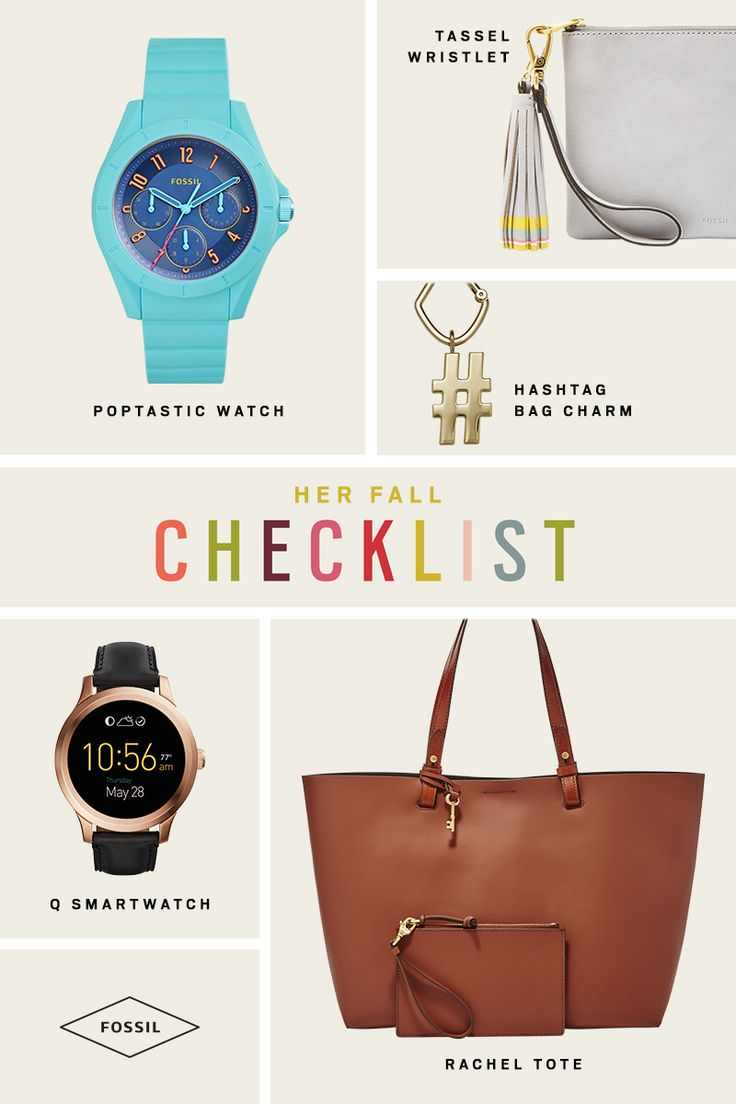 The top 5 products you'll definitely need to add to your fall wardrobe. Upgrade your outfit of the day with a rose gold smartwatch or the perfect everyday tote. Don't forget the tassel clutch - large enough to carry your phone, keys, and daily essentials during the weekend. More fall new arrivals here!