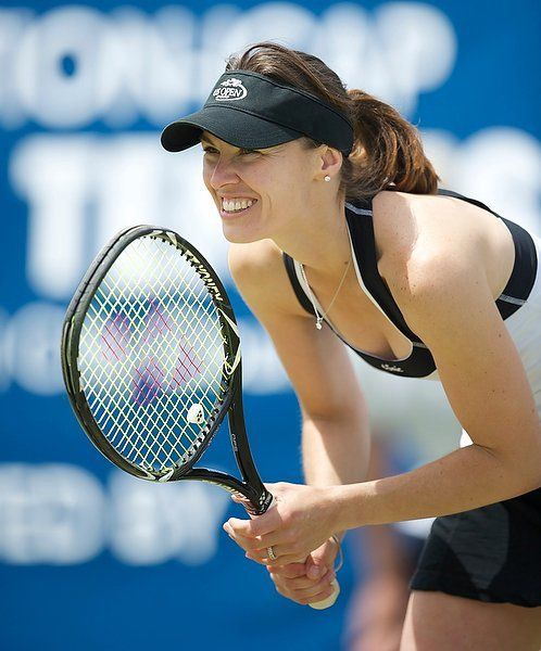 """Martina Hingis (born 30 Sept 1980) a Swiss, former professional tennis player, spent a total of 209 weeks as world no.1. She set a series of """"youngest-ever"""" records before temporarily retiring from professional tennis in 2002 due to ligament injuries in both ankles, at the age of 22. She returned  in 2006. & climbed to world no. 6 and won three singles titles before finally retiring."""