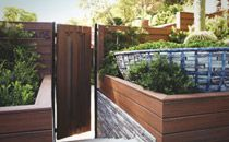 The eco-friendly appeal of Trex decking, as shown in this outdoor room by Jamie Durie - Trex - Fencing Idea