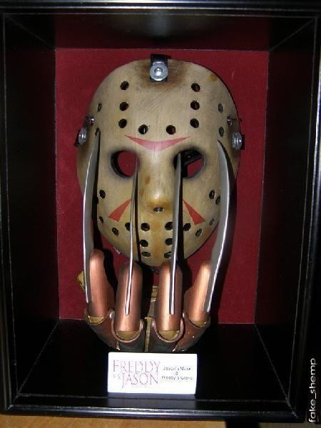 I found 'Freddy vs. Jason Freddy's Glove over Jason's Mask' on Wish, check it out!