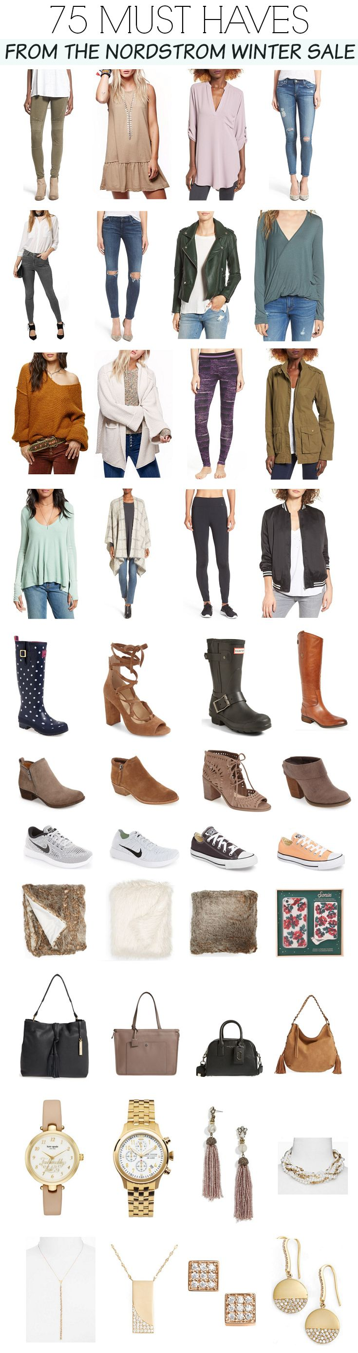75 incredible deals from the Nordstrom Winter Sale! Stock up on wardrobe staples now! | winter style | winter fashion | fashion for winter | style for winter | cold weather fashion | winter clothing sales || Katie Did What