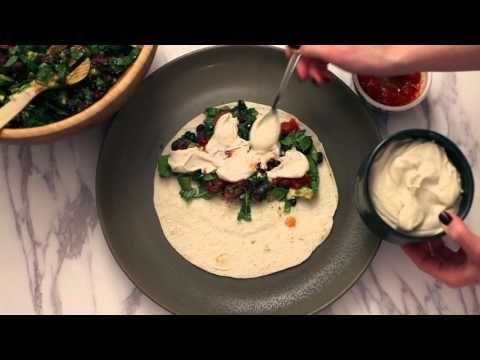 Veganer äter: Quesedillas med ostsås på cashewnötter #vegan